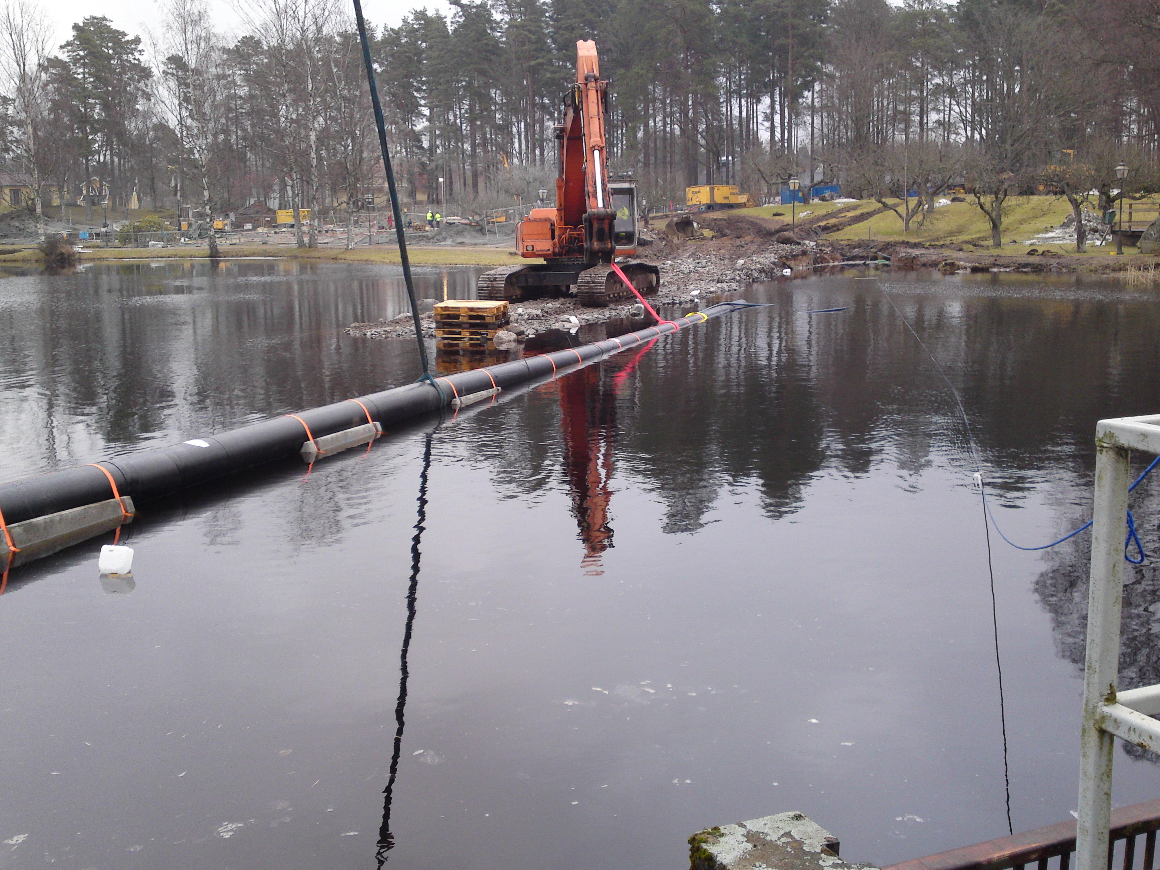 Sänks ner i vattnet ITT DN125