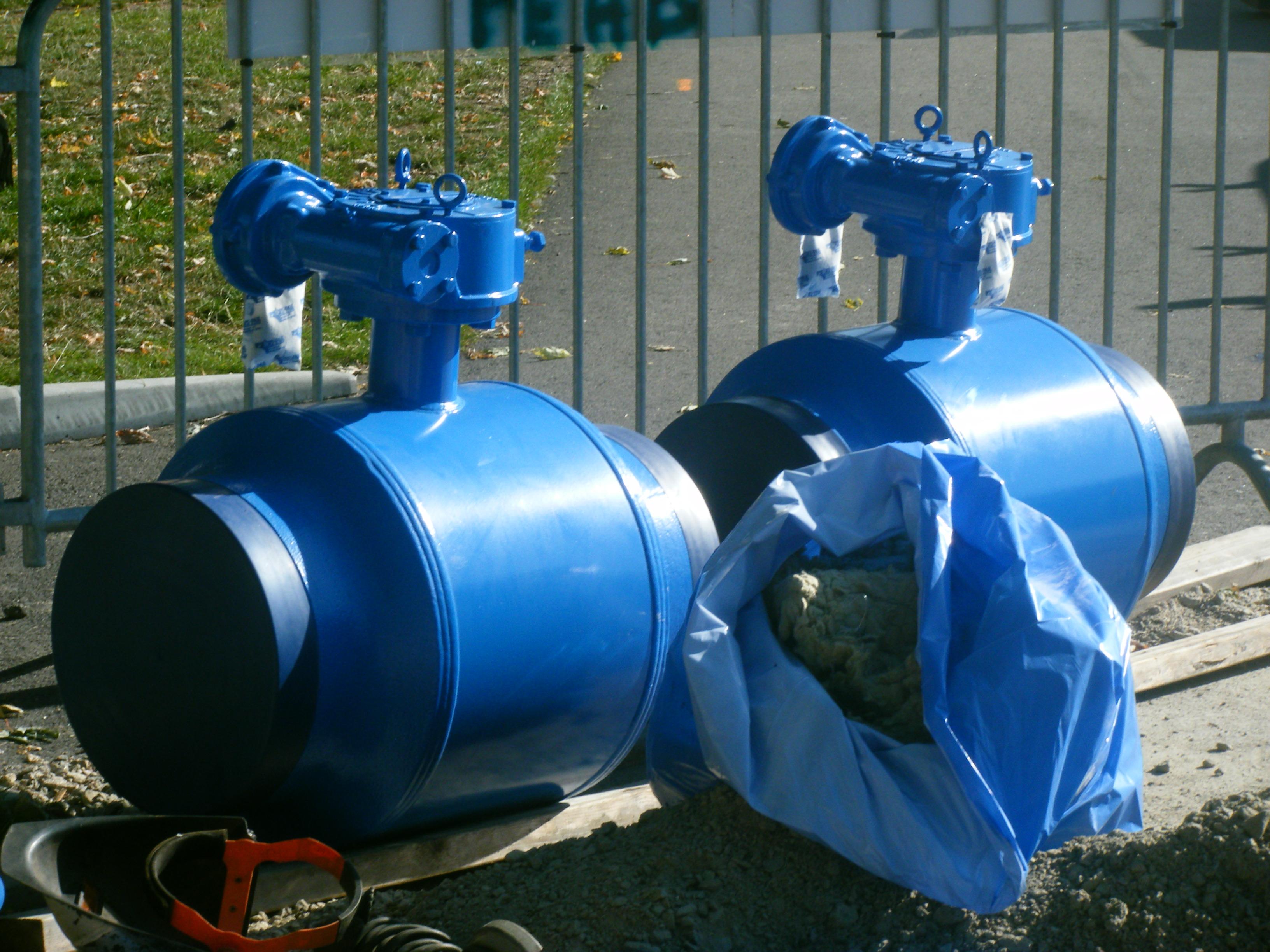 DN400 ventiler